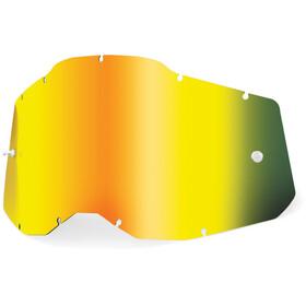 100% Anti-Fog Ersatzscheiben Gen2 Jugend gold/mirror